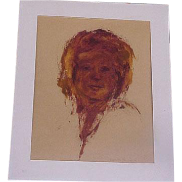 Portrait of a Woman Original Art Hauntingly Beautiful