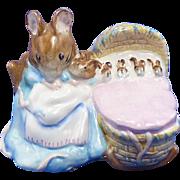 SALE Hunca Munca Figurine Beswick Beatrix Potter