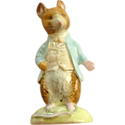 Johnny Town Mouse Figurine Beswick Beatrix Potter