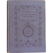 """SOLD """"Some Good Intentions and a Blunder """" Vintage Book 1895"""