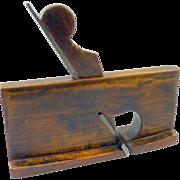 SOLD Wood  Rabbit Plane Cottingham Carpenter Tool