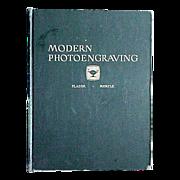 """Modern Photoengraving""  1948 Book"