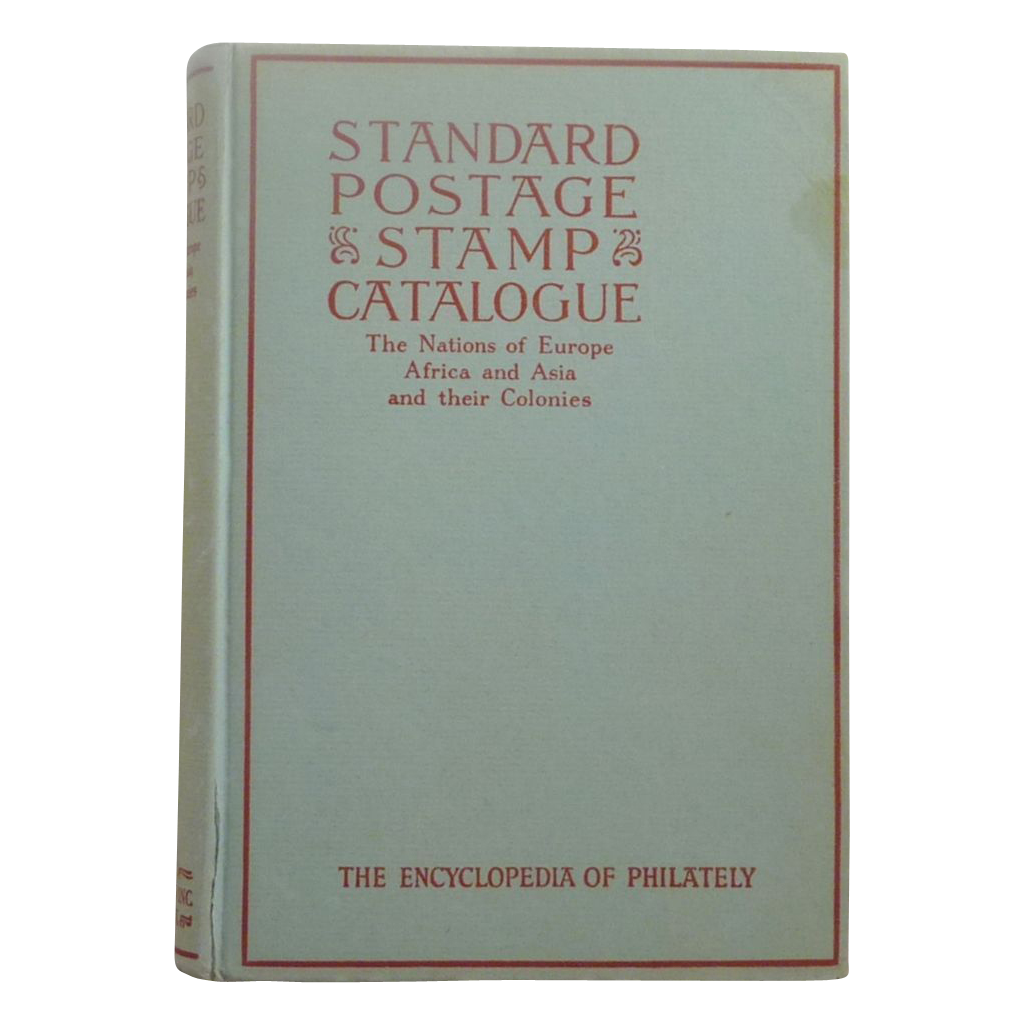 1945 Volume II Standard Postage & Stamps Catalogue Book