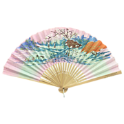 Blevins Funeral Home Folding Hand Fan Circa 1960's