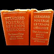 SALE Set  of 1960 Standard Postage Stamp Catalogue Books