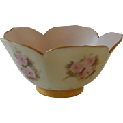 SALE Hand Painted China Lotus Bowl
