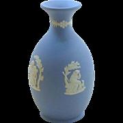 SALE Blue Wedgwood Small Urn Vase