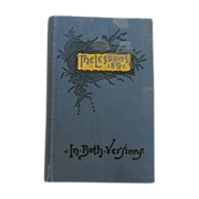 "International Sunday School ""The Lesson Book"" 1892"