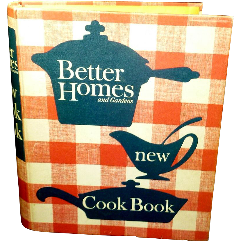 Better Homes and Gardens Cookbook  1962