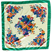 Morsly Floral Kerchief Scarf