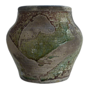 Matte Finish Earthen Colored Pottery Jar Vase Pot
