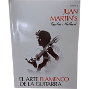 Juan Marin's Guitar Method Flamenco Music Book
