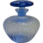 SOLD Vintage Blue Vanity Perfume Bottle
