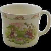 SOLD Hug a Mug Bunnykins Royal Doulton China Baby Child's Cup