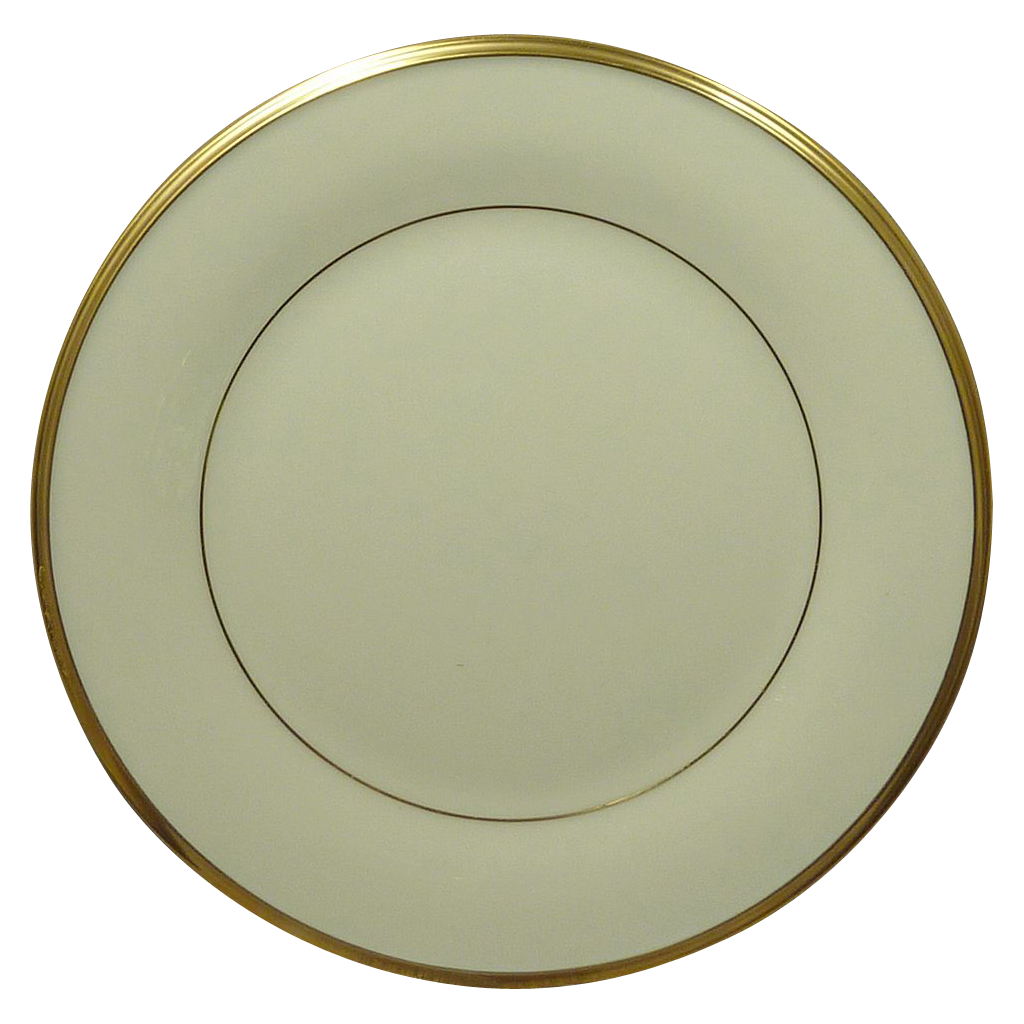 Silver Dining Room Set Lenox China Pattern Eternal Gold Trim Salad Plate From