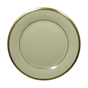 Lenox China Pattern Eternal Gold Trim Bread & Butter  Plate