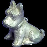 Art Metal Scottish Terrier Dog Figurine Paper Weight