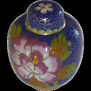 Miniature Asian Cloisonné Ginger Jar