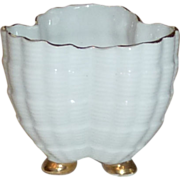 White Small Tooth Pick China Holder with Shell Type Finish