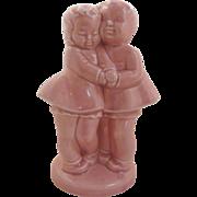 Two Best Friends Ceramic Pink Planter