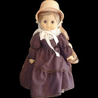"Sweet  19"" Little Girl Doll Made in France"