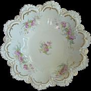 Austrian Porcelain Bowl Circa 1890
