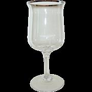 Lenox Desire Platinum Trim Water Goblet