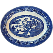 Homer Loughlin Blue Willow Serving  Platter