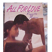 "Autographed Book ""All For Love"" By Raynetta Manees"