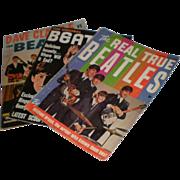 SOLD Lot of 3 Original Beatles Magazines