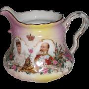 SOLD Queen Alexandra King Edward VII Commemorative Pitcher Windsor Canada