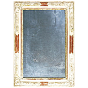 SOLD French Wall Mirror with antique silvering