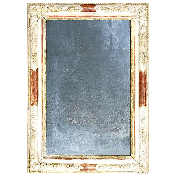 French Wall Mirror with antique silvering