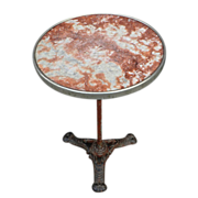 Marble top Bistro Table from France