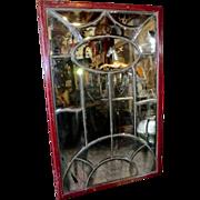 SOLD Multi-pane Bar Mirror from Paris.