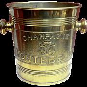Brass Champagne Bucket  'Montebello'
