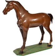 SALE Victorian Saddlemaker's Horse from England.