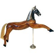 Wooden Horse Toy from France.