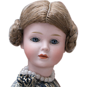"""SOLD 11 1/2"""" (29 cm.)  Antique Exceptional German Bisque Character Known as """"Wendy"""""""