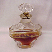 "Parfums Violet Paris ""Valreine"" Perfume with Bottle by Baccarat - Circa 1911"