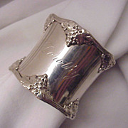 Gorham Sterling Napkin Ring # 270B - for Dorothy - Date Mark 1905