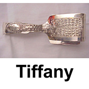 SALE Tiffany Broom Corn Sterling Asparagus Tongs