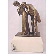 "SALE ""The Cardiologist"" Vienna Bronze Naughty by Carl Kauba"