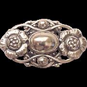 SOLD Georg Jensen Sterling Pin # 89 - Circa 1960