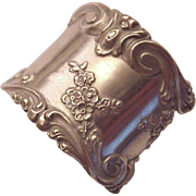 Simons Bro. & Co. Sterling Floral Napkin Ring # 1315 - Circa 1900