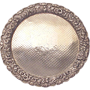 REDUCED Baltimore Silversmith's Mfg. Co. Sterling Repousse Border Platter - Circa 1904