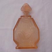 "SOLD Hoffmann Czech Perfume Bottle ""The Sun Bather"" - Circa 1930"