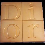 Vintage Christian Dior Sliding Purse Mirror Dior Compact