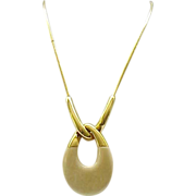 Mod Trifari Pendant Necklace