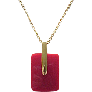 Trifari Pendant Necklace - Five Different Discs - Five Different Looks